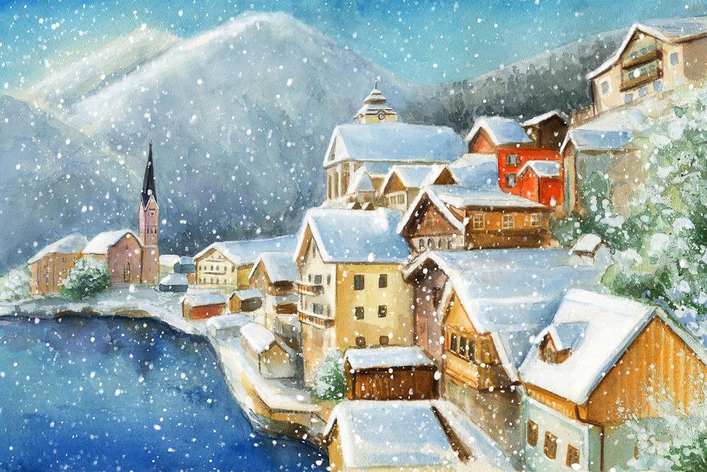 Austria. Postcard