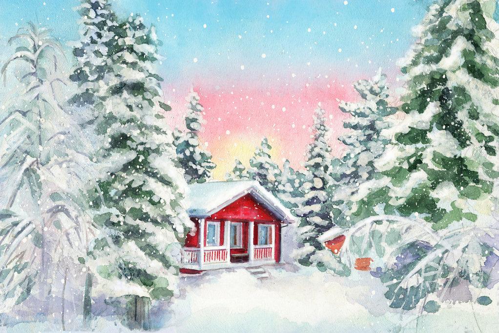 Finland. Postcard