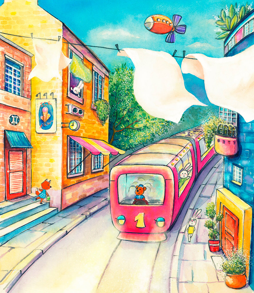 A train to Bunnyburrow
