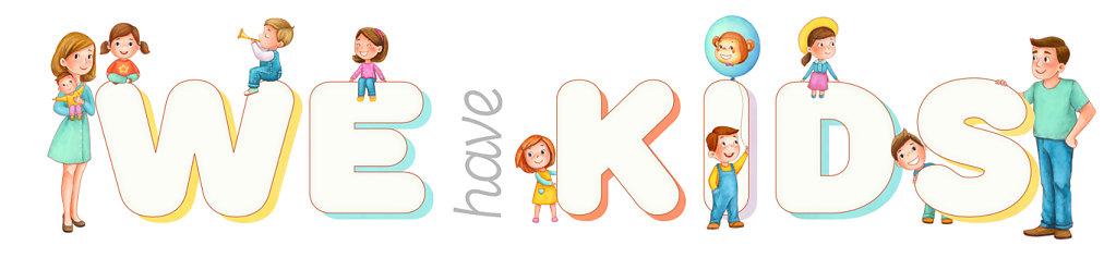 We have kids logo
