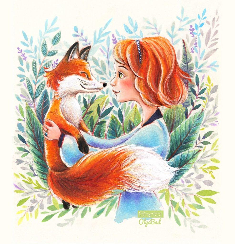 A Smiley fox