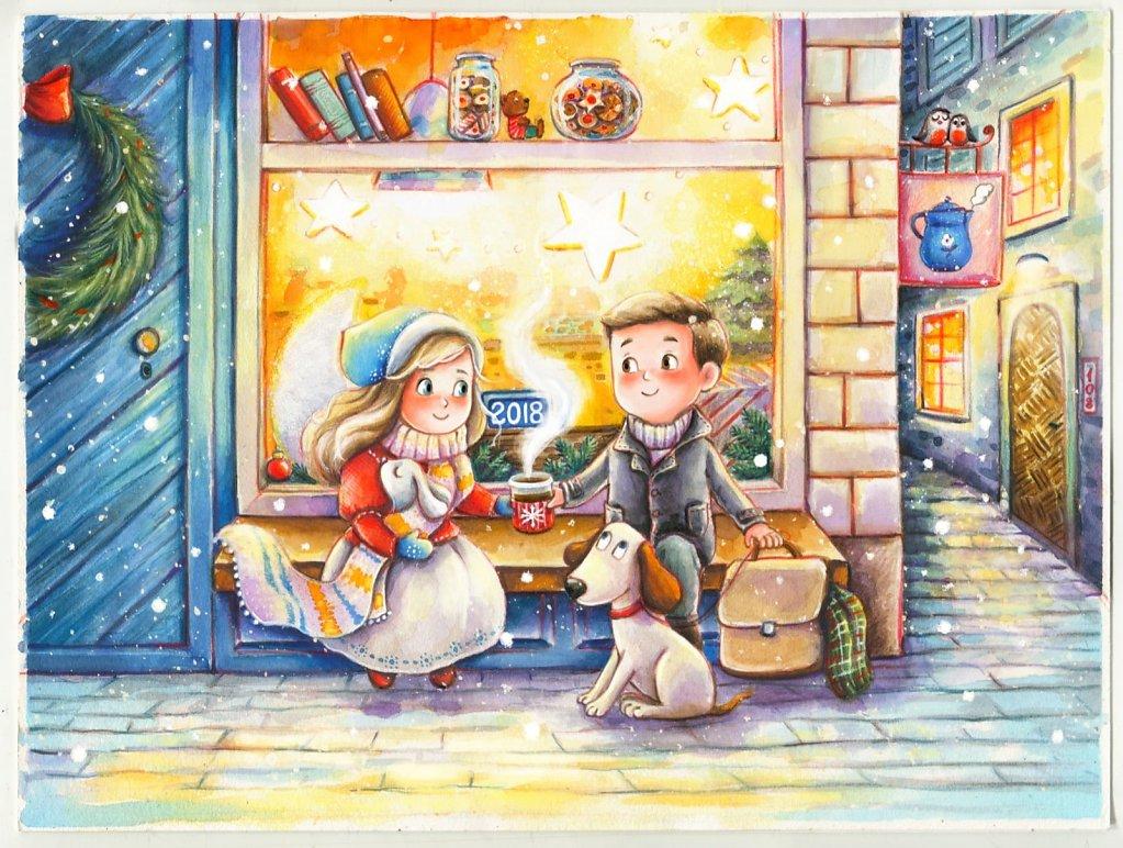 A Christmas evening