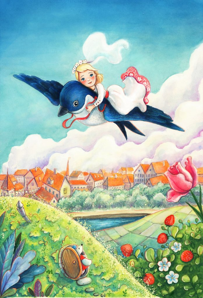 Thumbelina (Tommelise) - I'll fly away with you